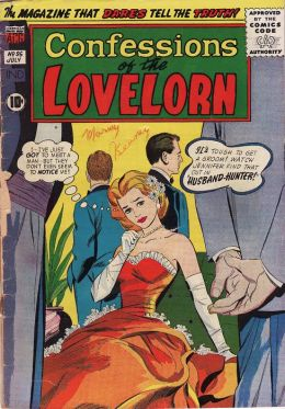 Confessions of the Lovelorn Number 95 Love Comic Book