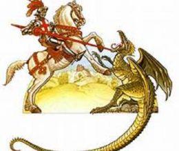 Best Seller St George & the Dragon ( adventure, fantasy, romantic, action, fiction, humorous, historical, romantic, thriller, crime, journey, battle, war, science fiction, Greeks, Trogan war, romance )