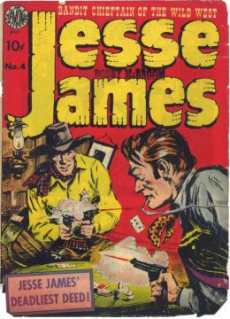 Jesse James Number 4 Western Comic Book