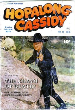 Hopalong Cassidy Number 70 Western Comic Book
