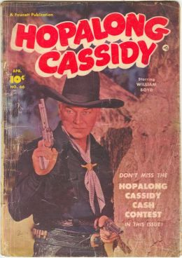 Hopalong Cassidy Number 66 Western Comic Book