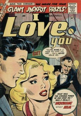 I Love You Number 23 Romance Comic Book