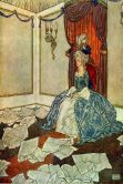 Book Cover Image. Title: The Snow Queen (Illustrated Edition), Author: Hans Christian Andersen