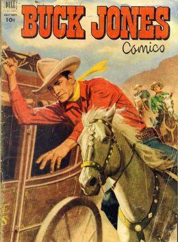 Buck Jones Number 7 Western Comic Book