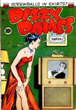 Dizzy Dames Number 3 Humor Comic Book