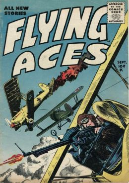 Flying Aces Number 2 War Comic Book
