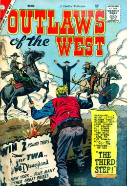 Outlaws Of The West Number 24 Western Comic Book