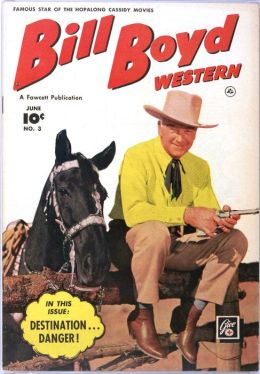 Bill Boyd Number 3 Western Comic Book