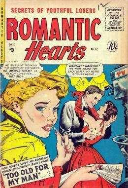 Romantic Hearts Number 12 Love Comic Book