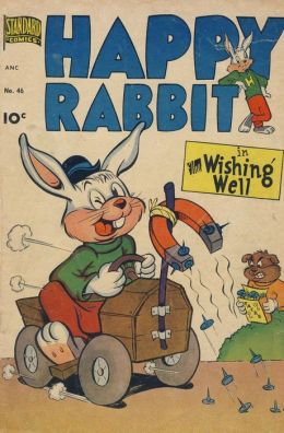 Happy Rabbit Number 46 Childrens Comic Book