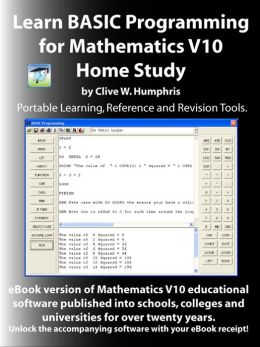Learn BASIC Programming for Mathematics V10 Home Study