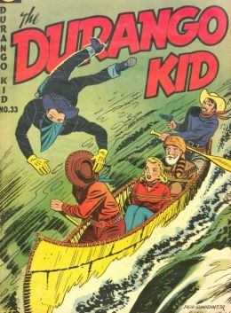 DURANGO KID Number 33 Western Comic Book