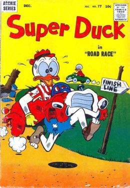 Super Duck Number 77 Childrens Comic Book