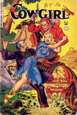 Cowgirl Romances Number 9 Love Romance Comic Book