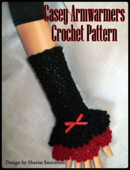 Casey Armwarmers Crochet Pattern