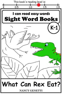 (Level 1 BOOKS: CAN can   sight Rex  Eat? K What Can WORDS: SIGHT i book word EASY READ WORD