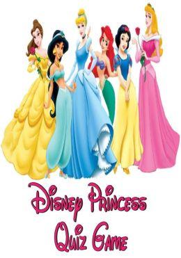 Disney Princess Quiz Game
