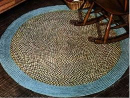 Crocheting Rugs Book : No Crochet, No Knit - Colonial Styled Braided Rug Pattern by Unknown ...