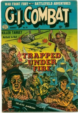 GI Combat Number 16 War Comic Book