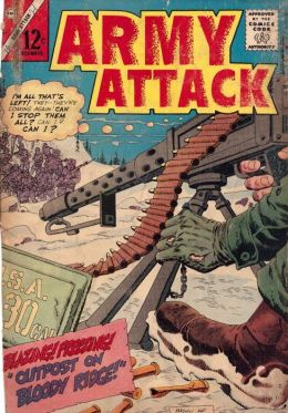Army Attack Number 41 War Comic Book