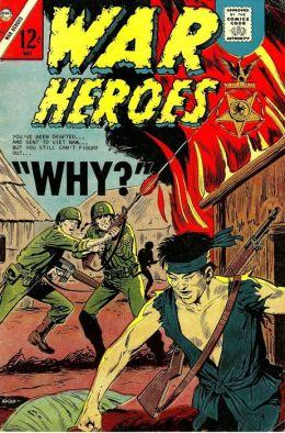War Heroes Number 24 War Comic Book