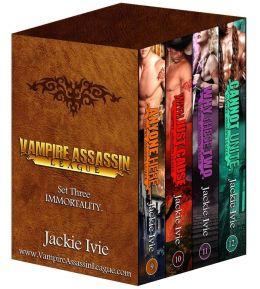Vampire Assassin League Bundle Set Three: Immortality