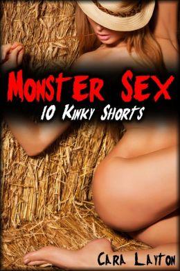 Monster Sex: 10 Kinky Shorts (Monster Erotica Bundle)