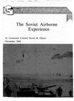 The Soviet Airborne Experience
