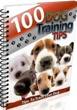 eBook about 100 Dog Training Tips - Your family is your team.