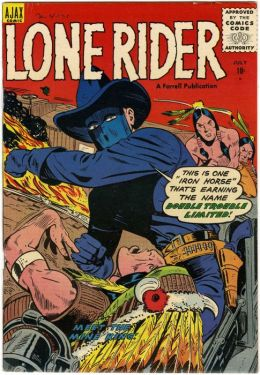 Lone Rider Number 26 Western Comic Book
