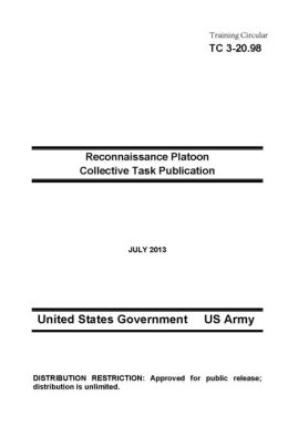 Training Circular TC 3-20.98 Reconnaissance Platoon Collective Task Publication July 2013