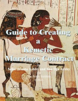 Guide to Creating a Kemetic Marriage Contract