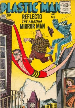 Plastic Man Number 63 Super-Hero Comic Book