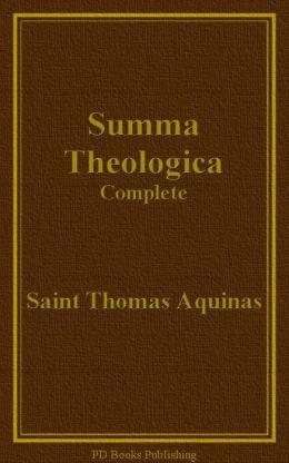 Summa Theologica, Complete