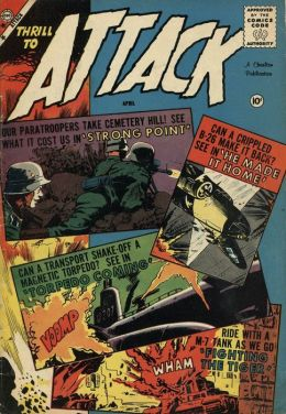 Attack Number 57 War Comic Book