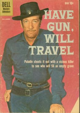 Have Gun Will Travel Number 4 Western Comic Book