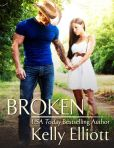 Book Cover Image. Title: Broken, Author: Kelly Elliott