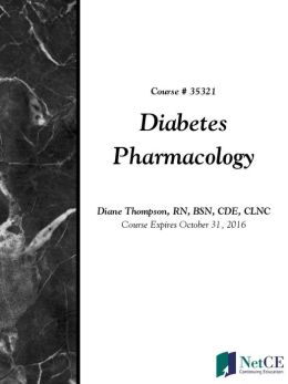 Diabetes Pharmacology