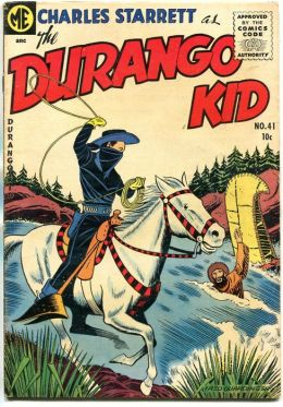 DURANGO KID Number 41 Western Comic Book