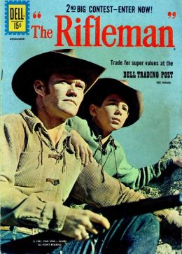 The Rifleman Number 9 Western Comic Book