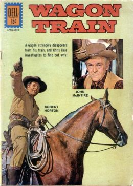 Wagon Train Number 13 Western Comic Book