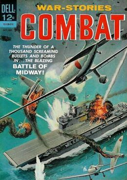 Combat Number 10 War Comic Book