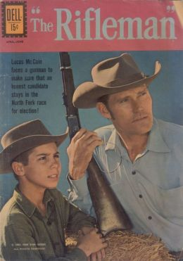The Rifleman Number 11 Western Comic Book