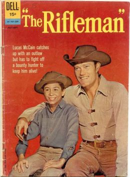 The Rifleman Number 12 Western Comic Book