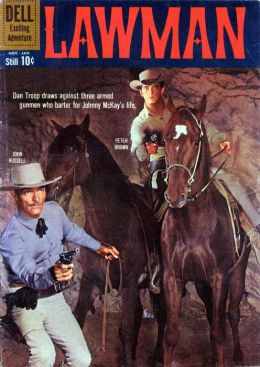 Lawman Number 6 Western Comic Book