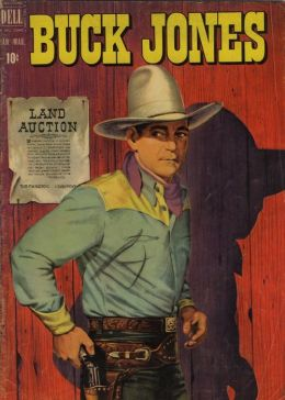 Buck Jones Number 5 Western Comic Book