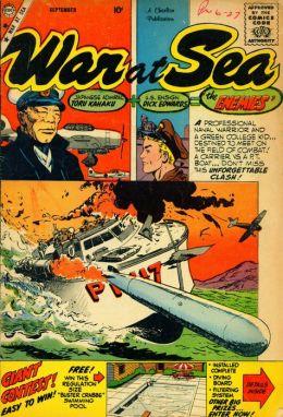 War at Sea Number 32 War Comic Book