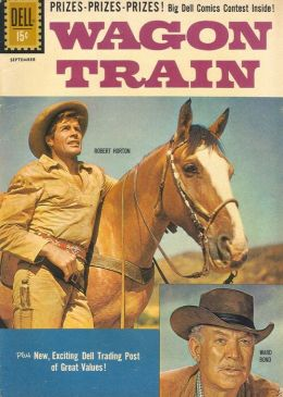 Wagon Train Number 10 Western Comic Book