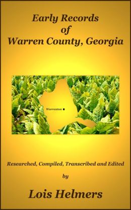 Early Records of Warren County, Georgia