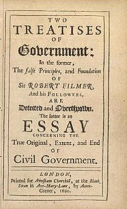 Second Treatise of Government (Annotated)